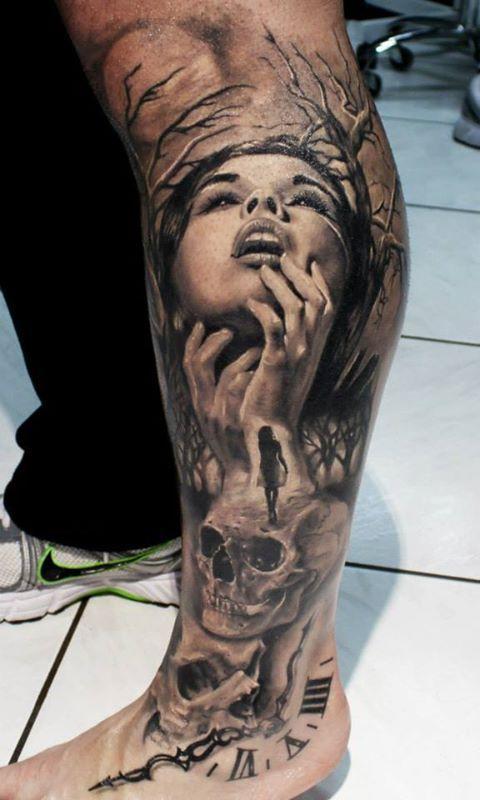tattoo designs for men leg