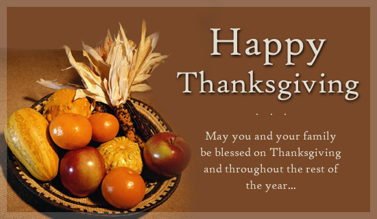 Happy Thanksgiving Messages For Friends, Family, Facebook 2019