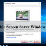 How to Enable Screen Saver on Windows 10 in 2021
