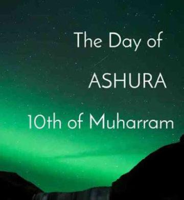 Day of Ashura 10 Muharram