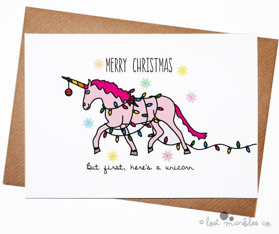 unicorn-funny-christmas-card