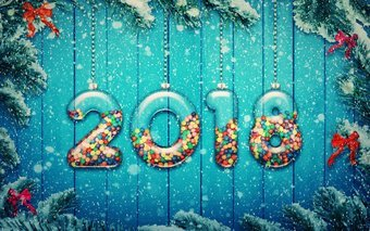 Hd 4 K New Year Wallpapers 4