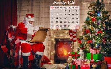 December 2020 Calendar Wallpaper - Wallpapers from TheHolidaySpot