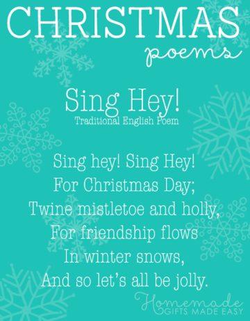 free christmas poems